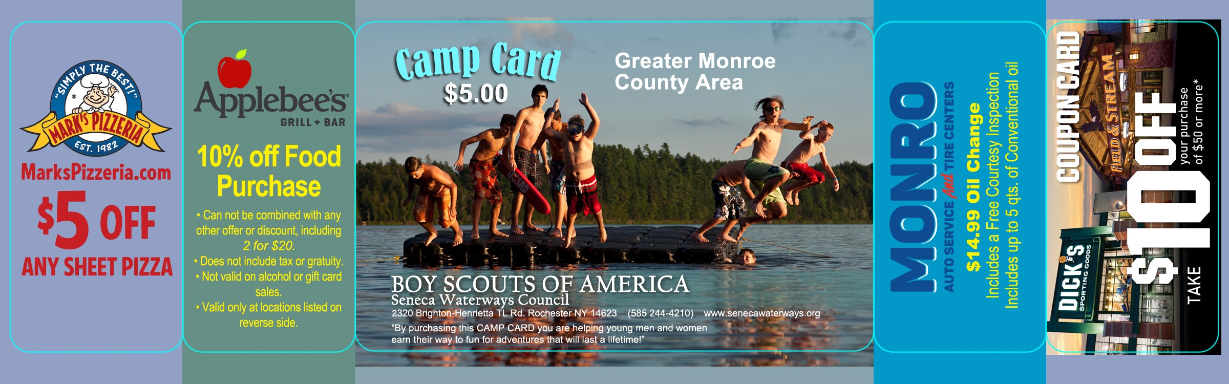 Monroe County Camp Card